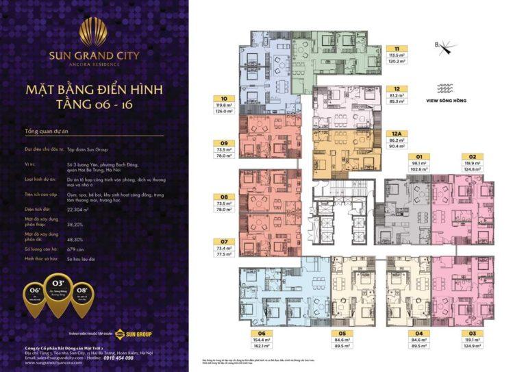 MBDH T3 Sun Grand City Ancora Residence 768x543 - Sun Grand City Ancora Lương Yên Đáng Giá Để Đầu Tư