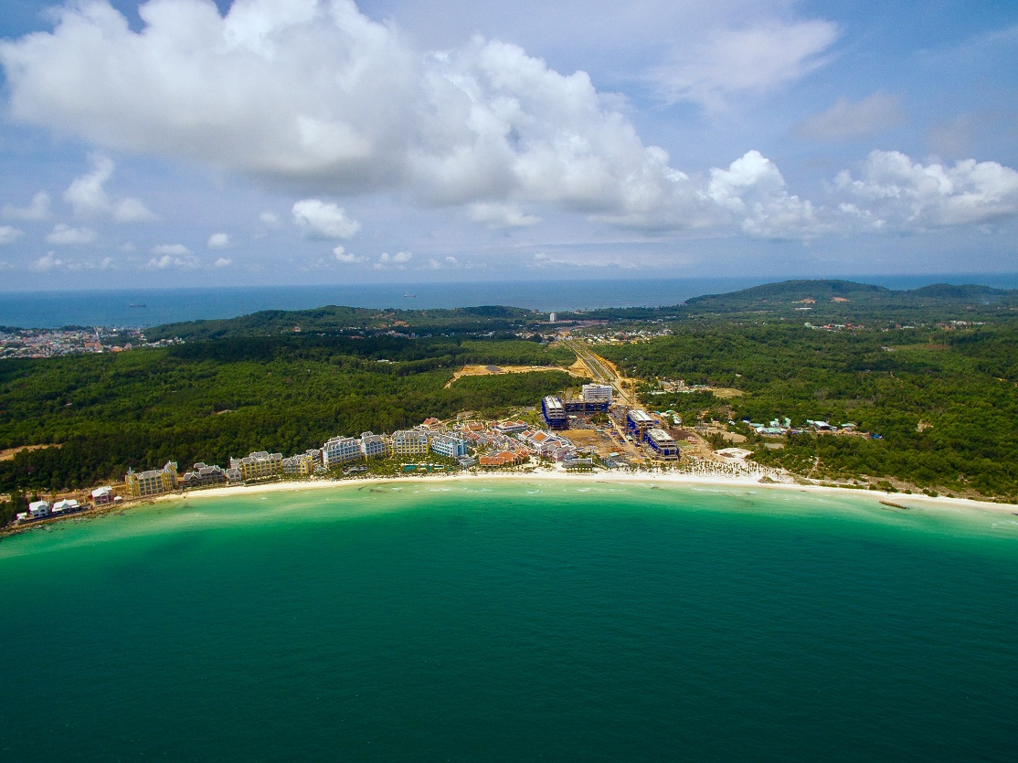 Flycam du an Premier Residences Phu Quoc