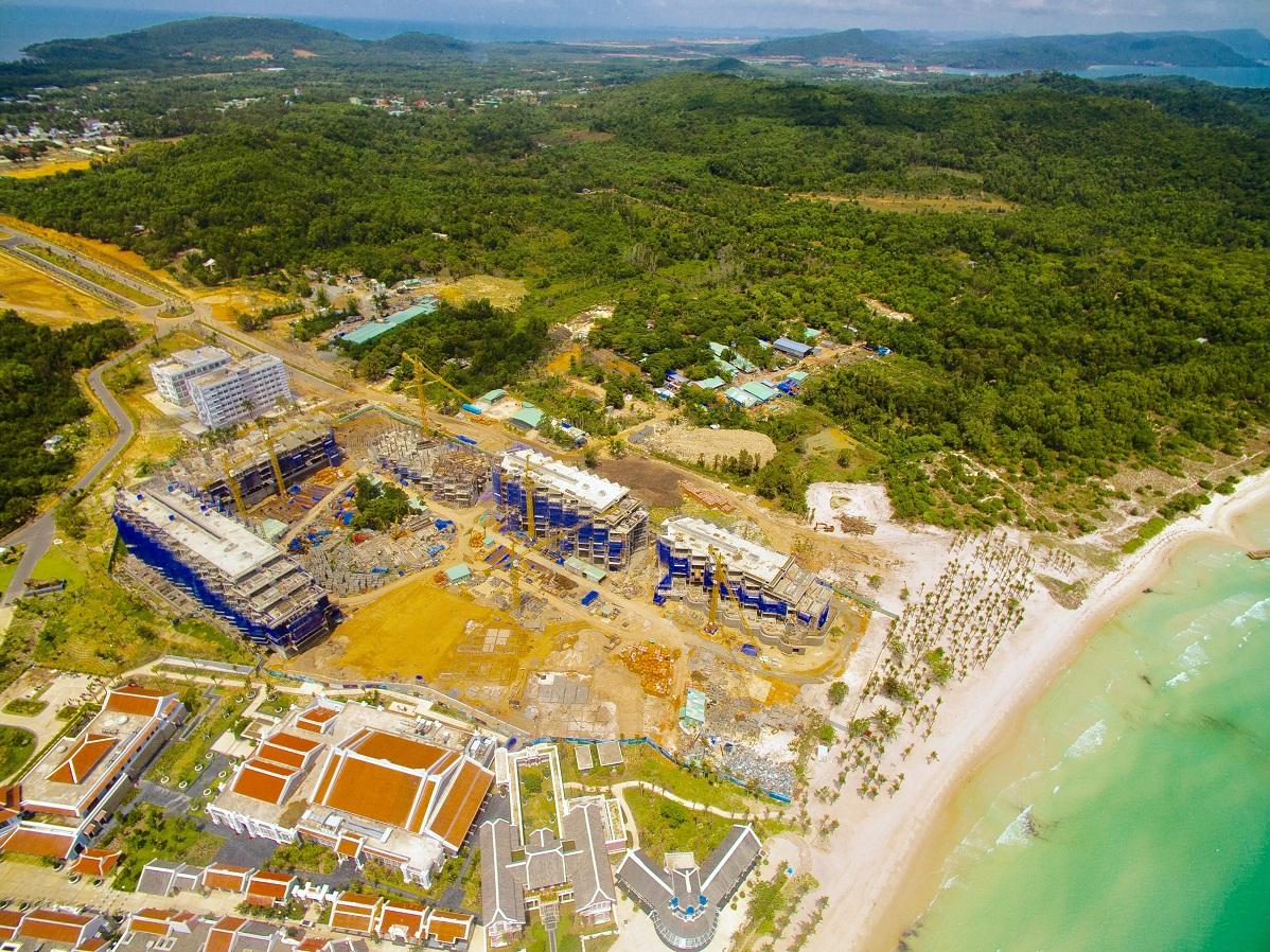 Flycam dự án Premier Residences Phu Quoc Emerald Bay