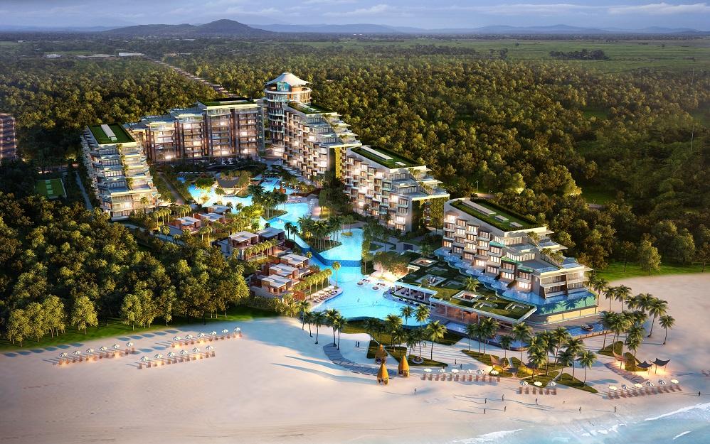 Phối cảnh tổng thể dự án Premier Residences Phú Quốc