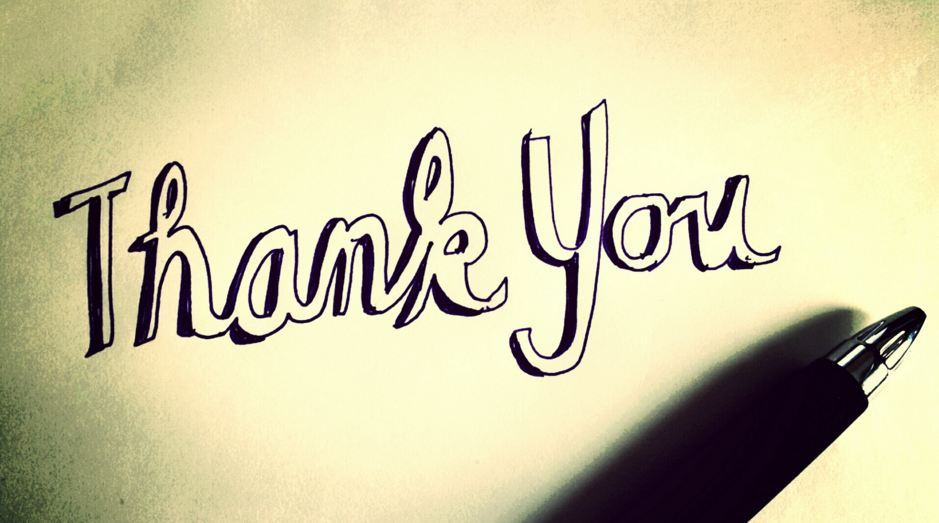 thank you - Thank you