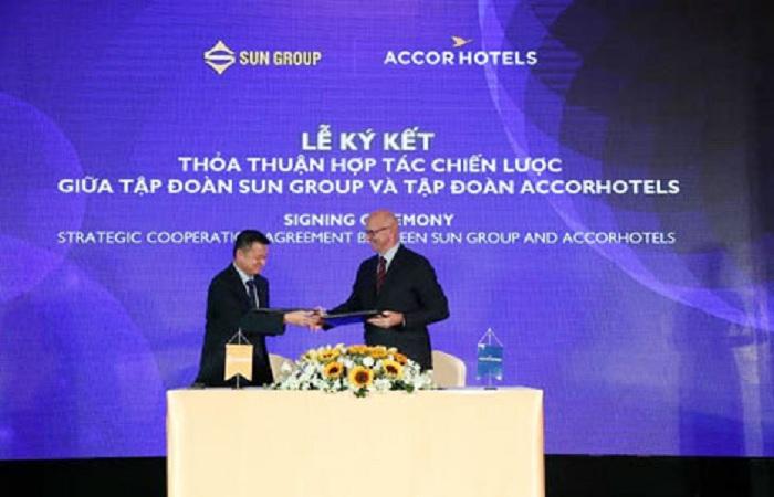 Sự hợp tác chiến lược với tập đoàn AccorHotels