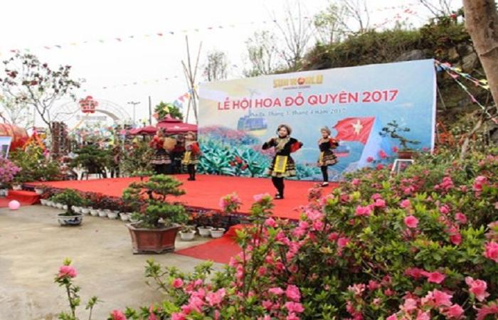 Lễ hội hoa đỗ quyên tại Fansipan Legend