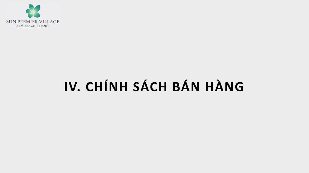 0043 1024x576 - Chính sách bán hàng Sun Premier Village Kem Beach Resort