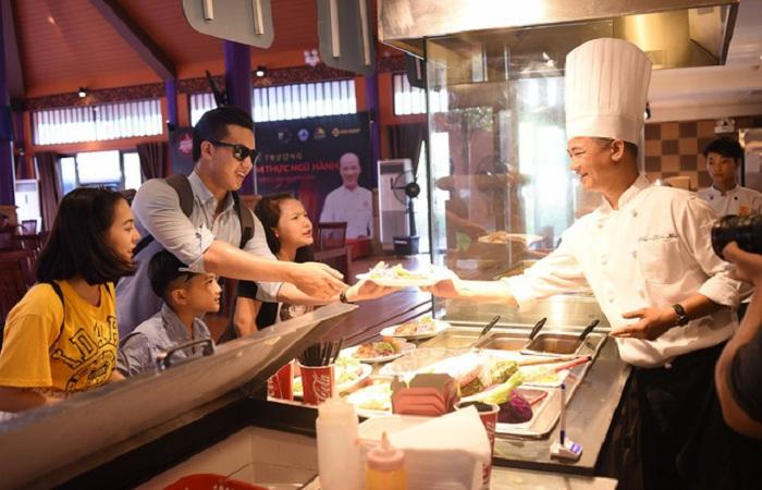 Không gian ẩm thực Ngũ hành tại Đà Nẵng