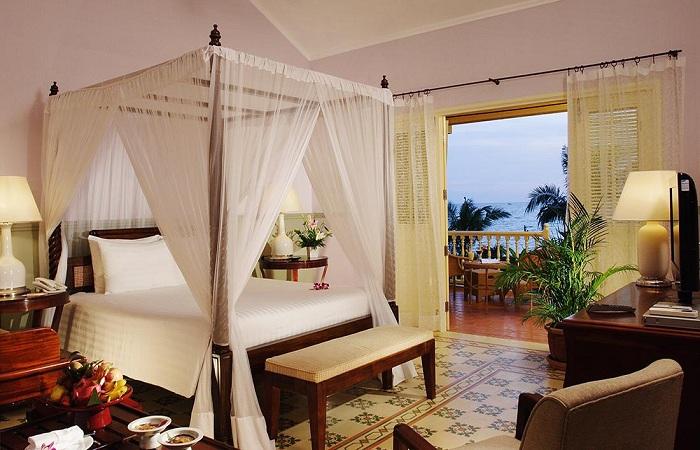 Phòng nghỉ hiện đại tại La Veranda