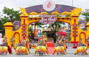 Không gian ẩm thực Ngũ hành lớn nhất tại Đà Nẵng