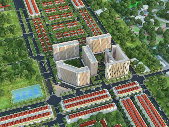 Gía nhà chung cư Hà Nội giảm mạnh