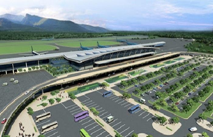 Sân bay quốc tế Phú Quốc đang được nâng cấp