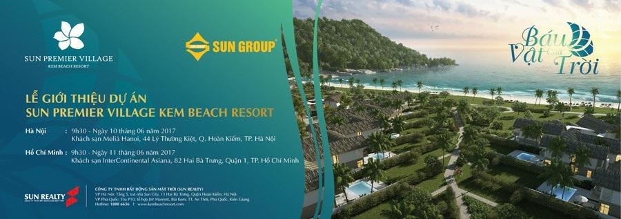 Sự kiện mở bán Sun Premier Village Kem Beach Resort ngày 10/6 - 11/6